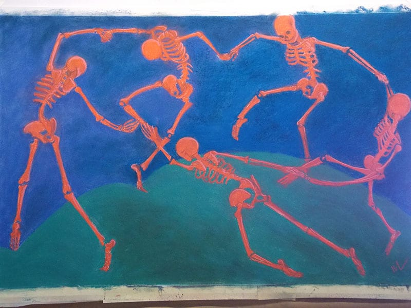 The Skelly Dance, WIP