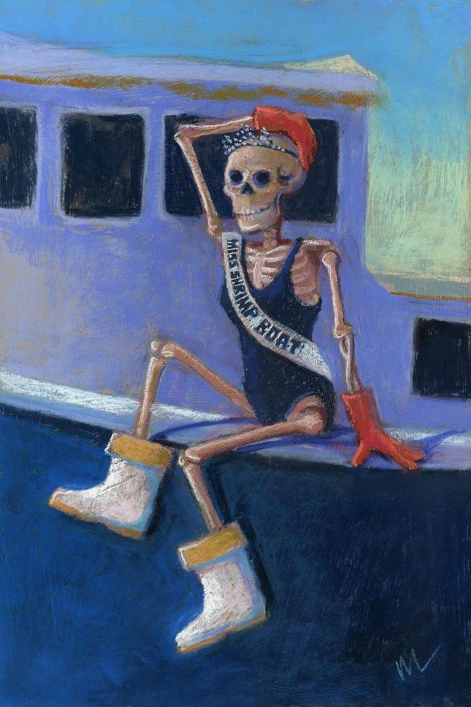 Miss Shrimp Boat Marie Marfia Fine Art