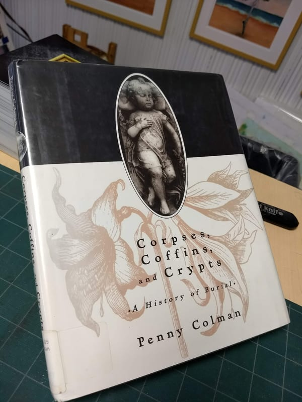 corpses coffins crypts book