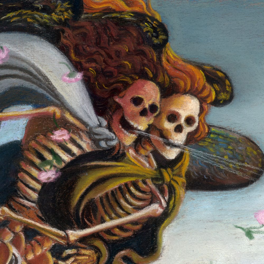 Skelly on the Half Shell, detail 1