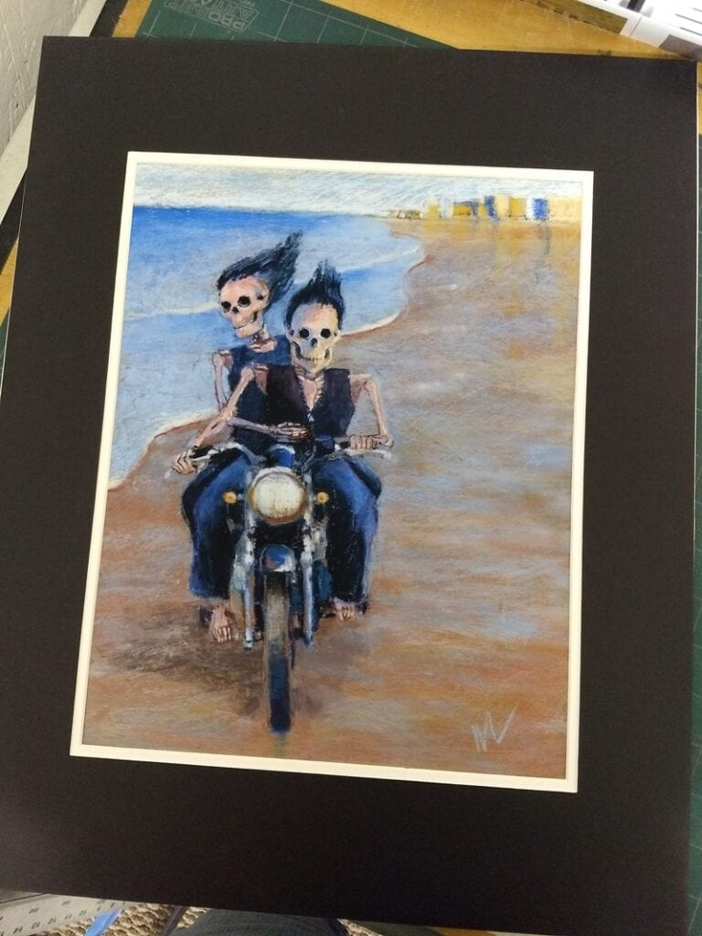 Marie Marfia Fine Art - Skellies and more!