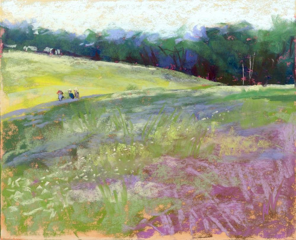 farmland trees pasture