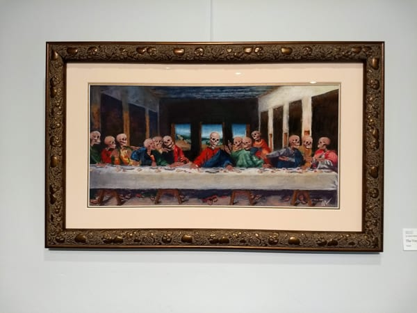 The Very Last Supper, Old (Dead) Masters show