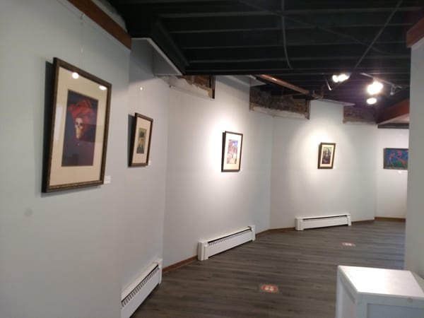 Old (Dead) Masters Show at Ludington Area Center for the Arts, October 2020